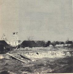 1945 - Alsace- Illhaeusern les bombardements- Source - 1ere dfl épopée d'une reconquete