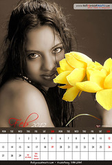 Bollywood Wall Calendar 2012 (Female Models) Joshi Saniya -Feb photo by BOLLYWOODHUNTS.COM