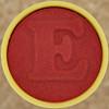Foam Stamp Letter E