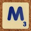 Scrabble Trickster Letter M