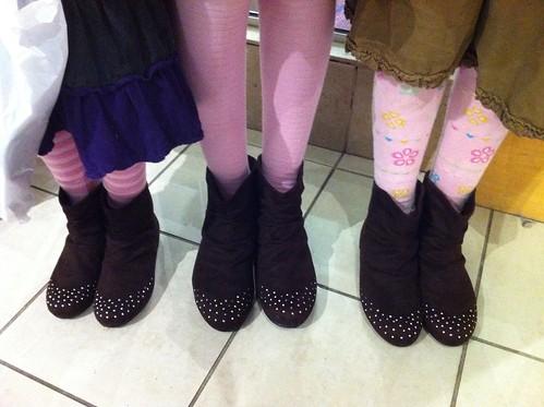 GirlsInMatchingBoots