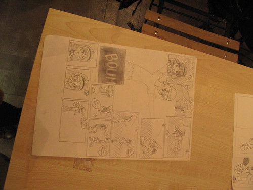 Stage BD/manga avec Andy Carène - 13/14/15 février 2012