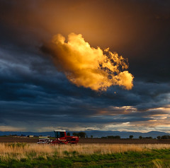 Combine Cloud photo by David Kingham