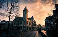Janskerkhof after the morning rain, Utrecht photo by lambertwm