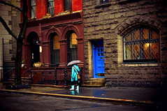 Infused Afterglow - Rain - Greenwich Village - New York City photo by Vivienne Gucwa