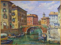 Dipinto del Quartiere Venezia - Livorno photo by Uccio81 α
