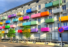 Colorful Balconies photo by Habub3