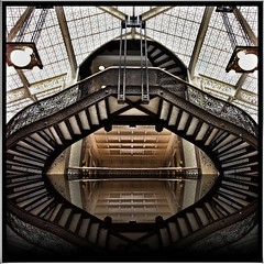 Chicago IL ~ Rookery Building ~ Stair Case photo by Onasill ~ Slowing Down