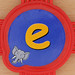 Stickle Brick Letter e