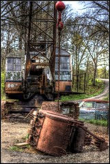 Plop Goes the Bucket HDR photo by Nux Pix (Home Treating a Tough Knee Injury)