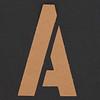 Stencil Letter A