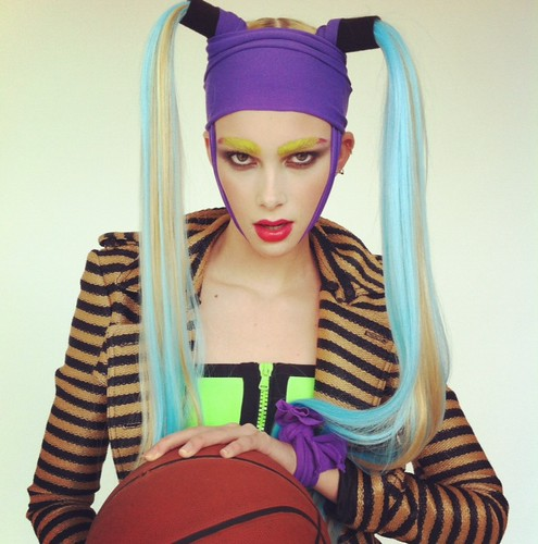 Jock Jams shoot today, Emma our balla.