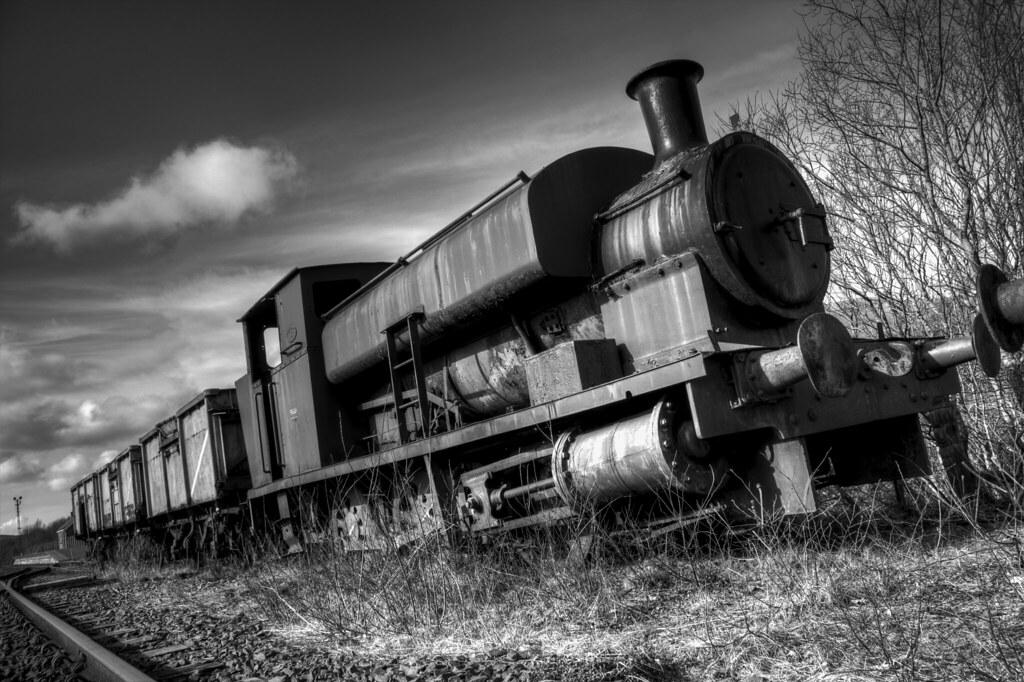Dunaskin Abandoned Train photo by Bora Horza
