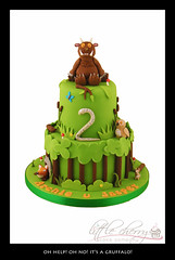 Gruffalo Cake photo by Little Cherry Cake Company