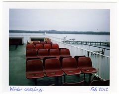 Winter Crossing (Fujifilm FP-100C + Polaroid 180) photo by Chi Bellami
