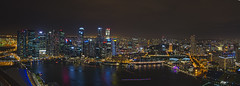 Singapore Nightscape during i Light Marina Bay photo by Wang Guowen (gw.wang)