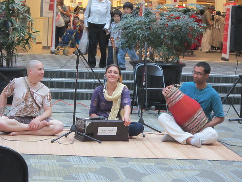 Kirtan in the Mall