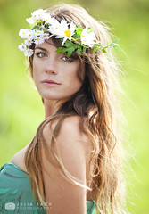 Hippie Flower Child Portrait photo by Julia Bach Photography