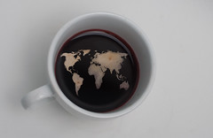 43 world in my coffee cup photo by and a Truck