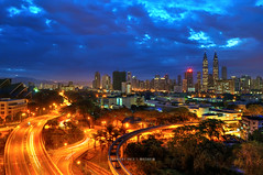 Kuala Lumpur in Blue photo by mozakim