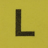 Foam brick letter L