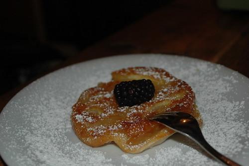 Tarte aux pommes @ Petite Raclette