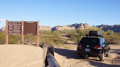 Offroading through Bulldog Canyon