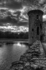 Caerlaverock Castle photo by Mike Docherty