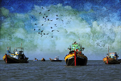 Khe Ga seascape [ EXPLORED ] photo by -clicking-