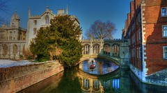 The Bridge of Sighs,St.John`s College,Cambridge photo by Lemmo2009