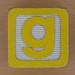 Wooden Brick Letter g