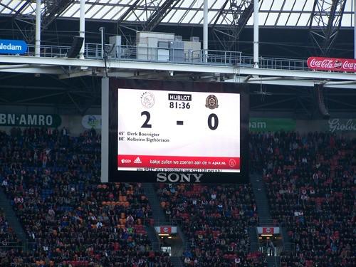 6959633758 5bba69a96f Ajax   FC Groningen 2 0, 22 april 2012