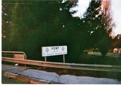 Hyères- Le Pont de la 1ère DFL qui enjambe le Gapeau - Fonds Pierre Tropet