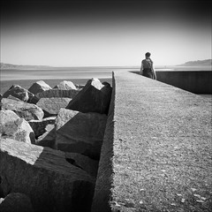 Looking Out to Sea photo by Petur
