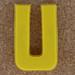 Magnetic letter U