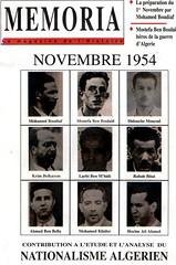 MEMORIA NOVEMBRE 1954 - N° 01