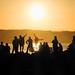 Sunset Revelers