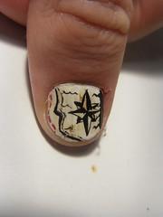 Here be treasure nail art photo by borispumps