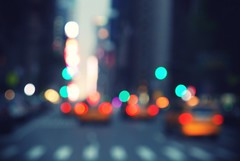 NYC - City of Bokeh photo by Jasmijn Hormann