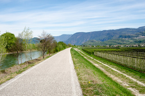 Radweg im Unterland