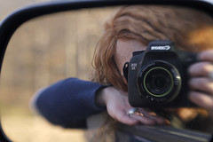 Lensbaby: Kim in Mirror photo by SmashFire Designs