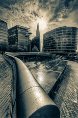 The Shard from City Hall, after the rain photo by tonybill