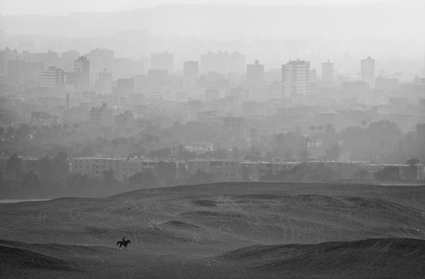 Horizon of Civilization [Giza, Cairo, Egypt] photo by Saud A Faisal