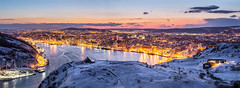 St. John's harbour winter panorama photo by tuanland