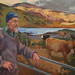 The Crofter, 120x76cm, Oil on board