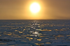 Sunset in the Arctic photo by NASA Goddard Photo and Video