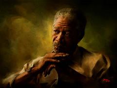 Morgan Freeman photo by jackbigbox