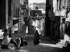 Black Burka, Balat - Istanbul photo by adde adesokan