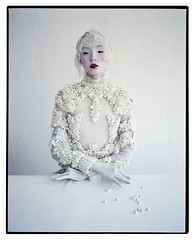 Xiao Wen Ju photographed by Tim Walker for W Mag, March 2012 photo by JLQ831