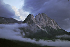 The Zugspitze Massif in the Bavarian Alps photo by Jeff Rose Photography
